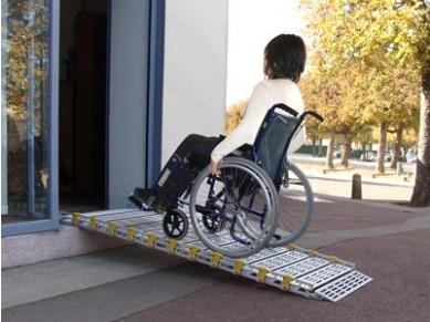Rampe d'accès amovible Rollaramp autoportant